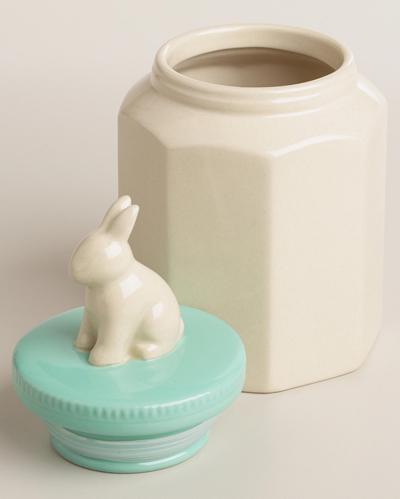 Ceramic Bunny Jar
