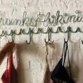 Turquoise Trunks and Bikinis Towel Rack