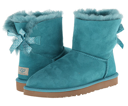 UGG Mini Bailey Bow Scallop
