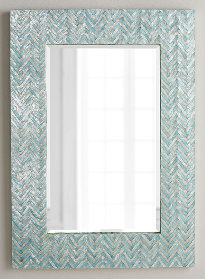 Adriana Chevron Mirror