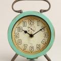 Aqua Retro Avery Desk Clock