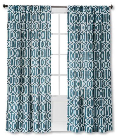 Farrah Lattice Curtain Panel