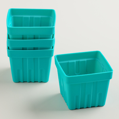 Silicone Berry Basket Muffin Baking Cups