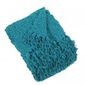 Teal Temi Throw