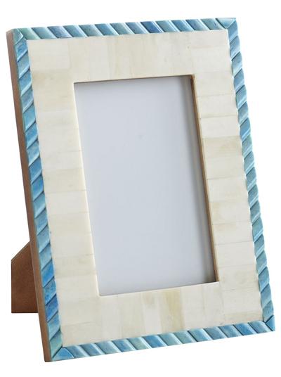 Blue Twist Bone Frame