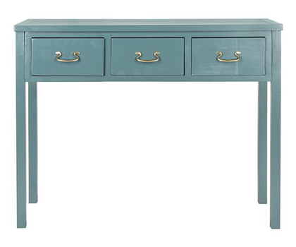 Reese Teal Console Table