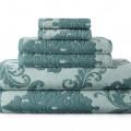 Signature Soft Damask Bath Towel Set