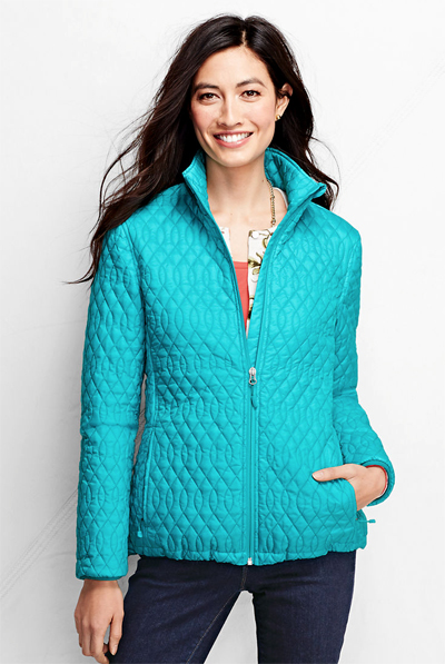 Turquoise PrimaLoft Packable Jacket