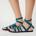 Turquoise Sunever Sandal