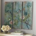 Bird & Branch Triptych Panels