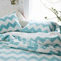 Geo Chevron Duvet Cover