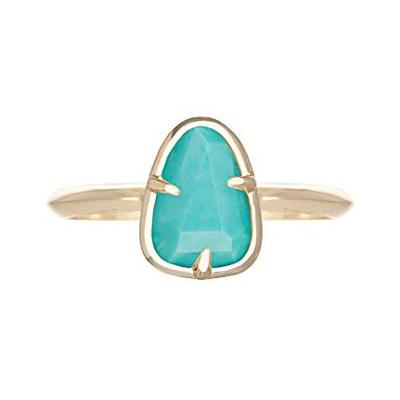 Kendra Scott Haylee Ring in Turquoise Magnesite