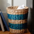 Savannah Color Striped Waste Baskets