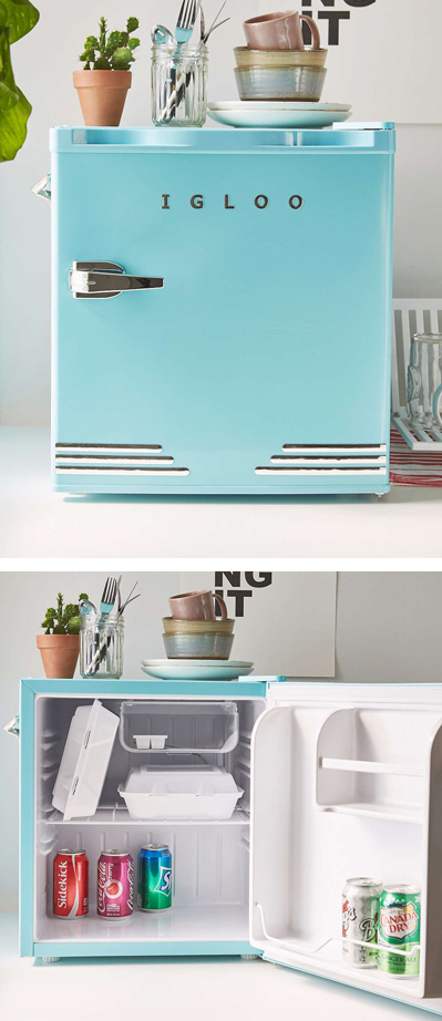 Mini Refrigerator Everything Turquoise