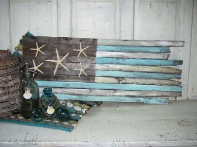 Handcrafted Coastal Flag