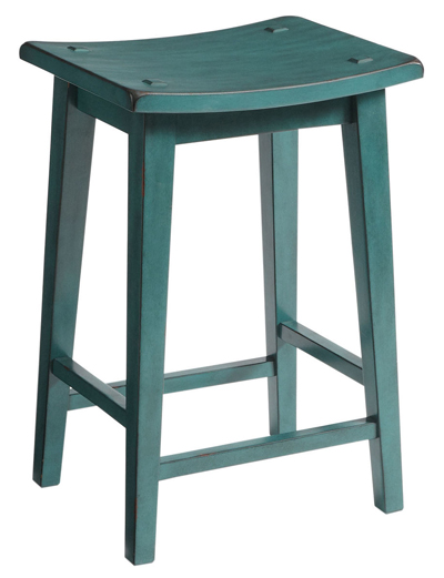 Lawson Teal Backless Counter Stool Everything Turquoise