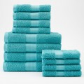 12-pc. Bath Towel Value Pack in Light Teal