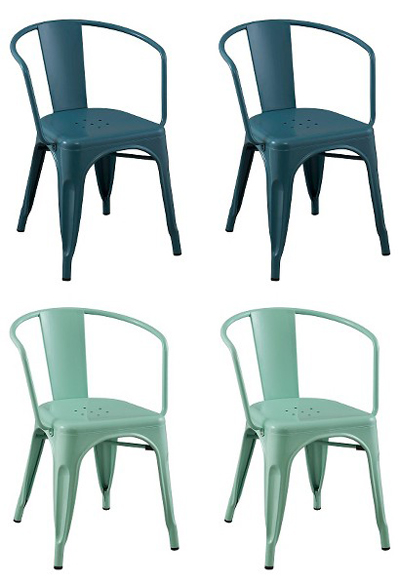 Merveilleux Turquoise Metal Chair Best Home Design 2018