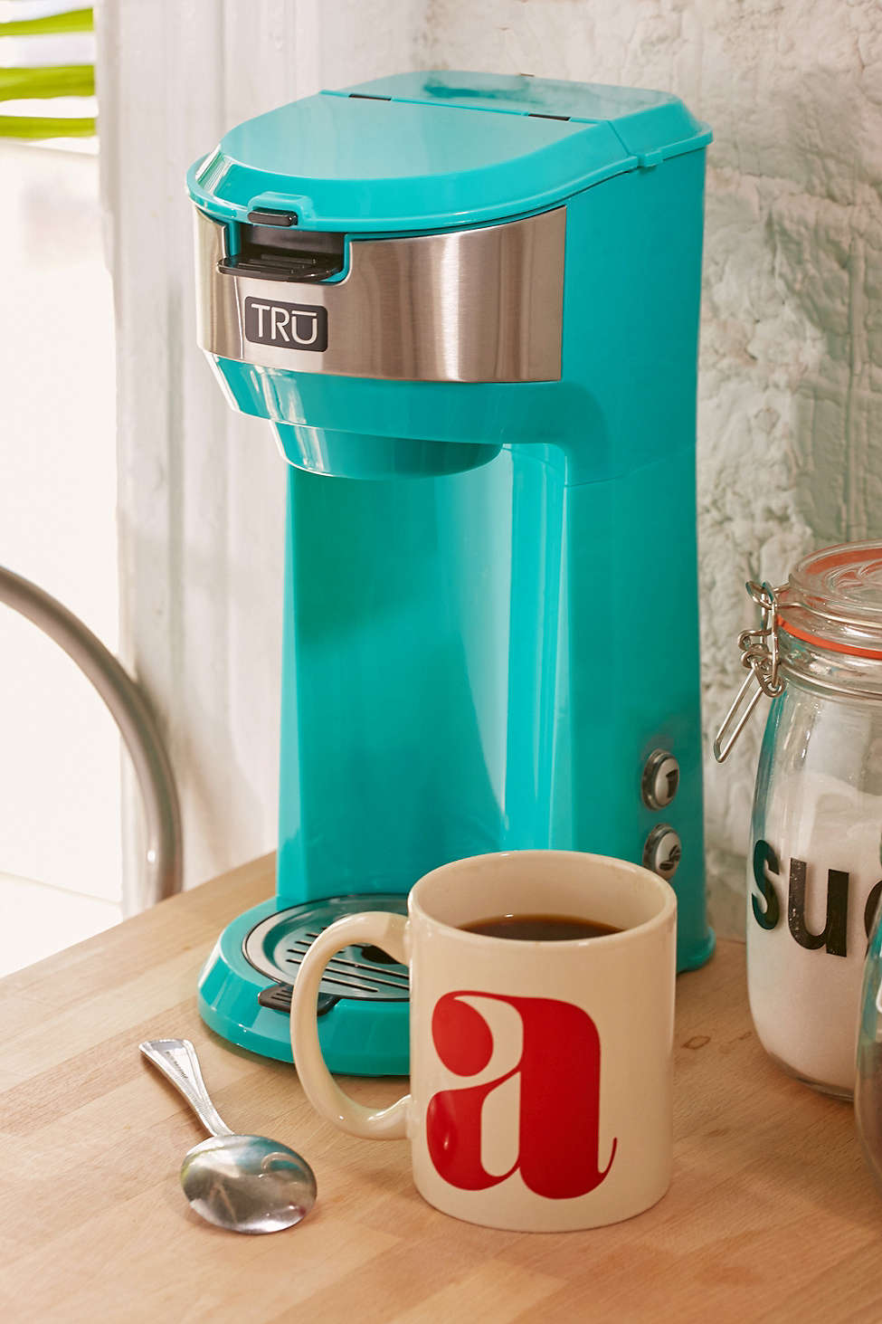 nice Turquoise Small Kitchen Appliances #3: Turquoise Single Brew Coffee Maker