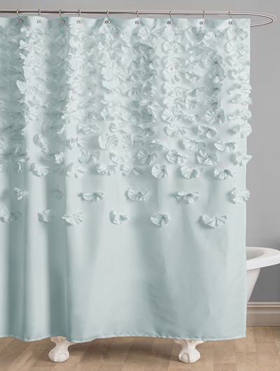 Shower Curtains cotton shower curtains : Shower Curtains | Everything Turquoise | Page 3