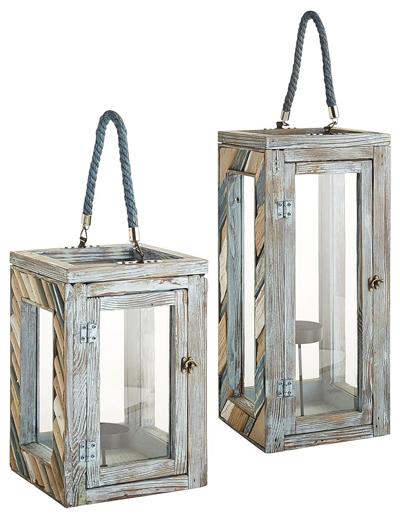 Seaside Wood Lanterns