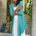 Turquoise Shimmer Cardi