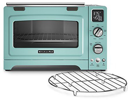 KitchenAid Convection Countertop Oven in Aqua Sky Everything ...