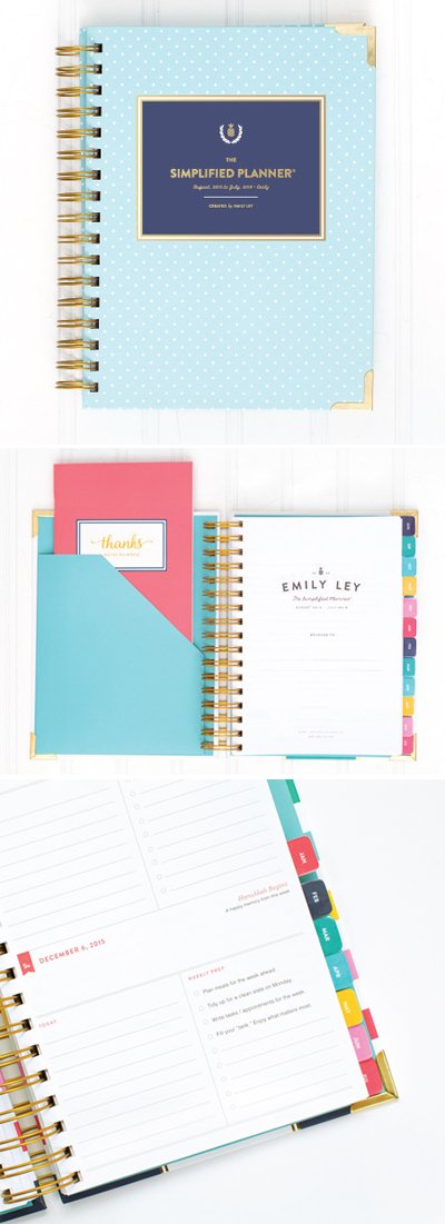 2016 Daily Simplified Planner