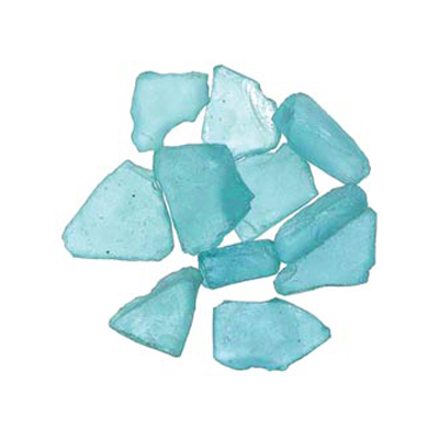 Sea Glass Decorative Accent Glass