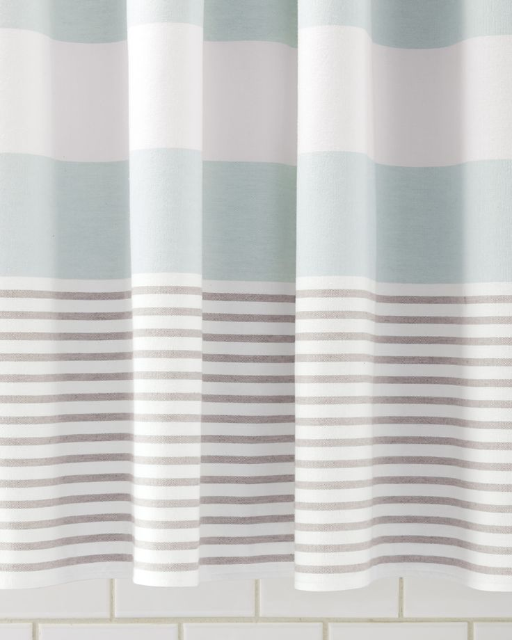 Shower Curtain Aqua