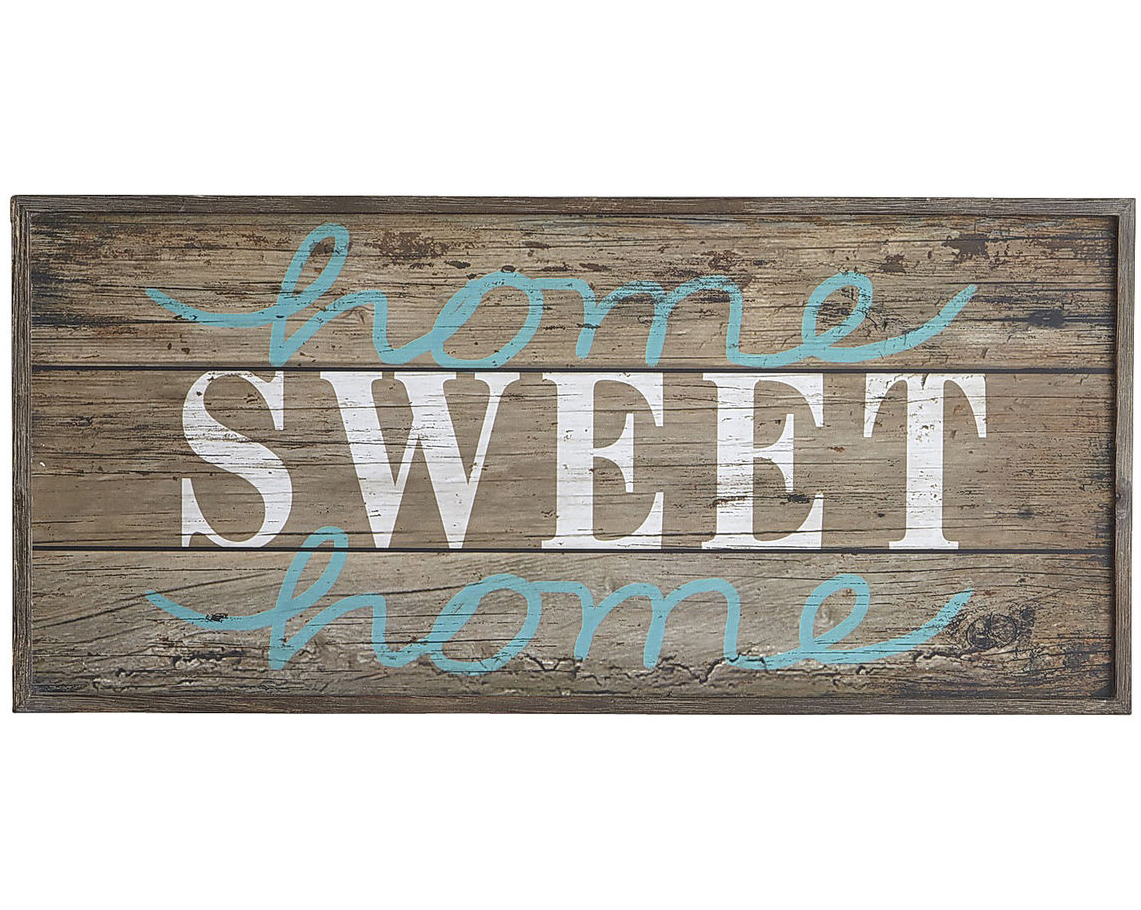 Home Sweet Home Wall Decor Everything Turquoise