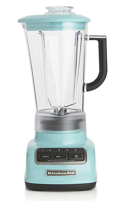 KitchenAid 5-Speed Aqua Sky Diamond Vortex Blender