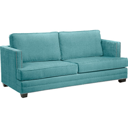 "Marbella 82"" Upholstered Sofa in Teal"