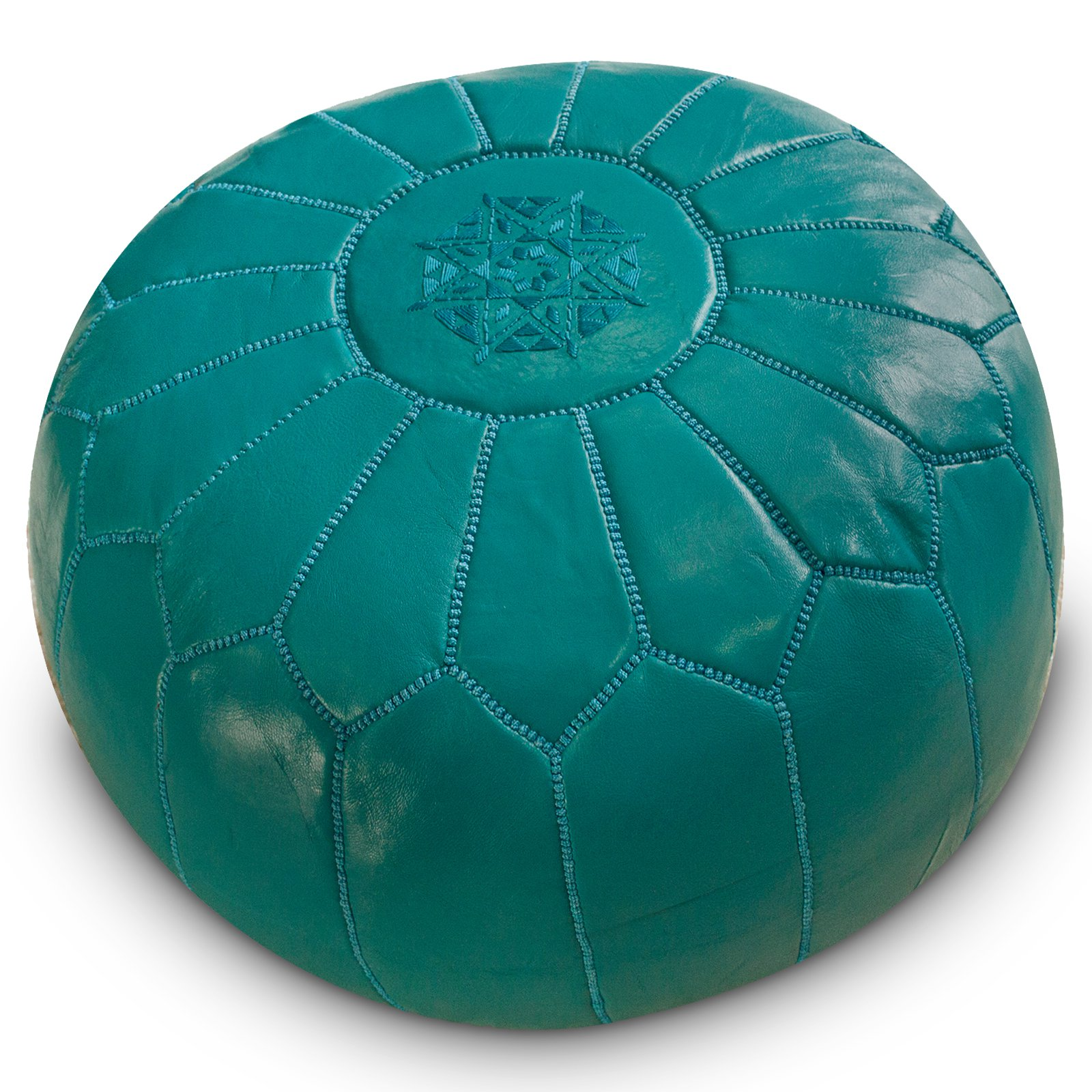Cot In A Box Morocco Turquoise: Turquoise Moroccan Ottoman