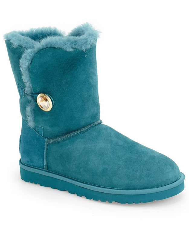 Deep Teal UGG Australia Bailey Button-Oranate Boot
