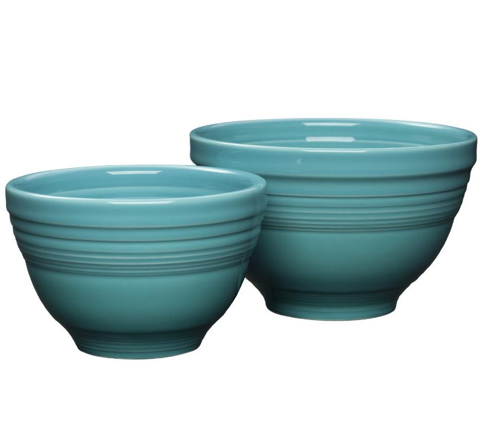 Fiesta Turquoise 2-Piece Prep Bowl Set