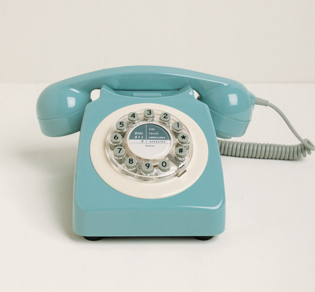 French Blue Phone