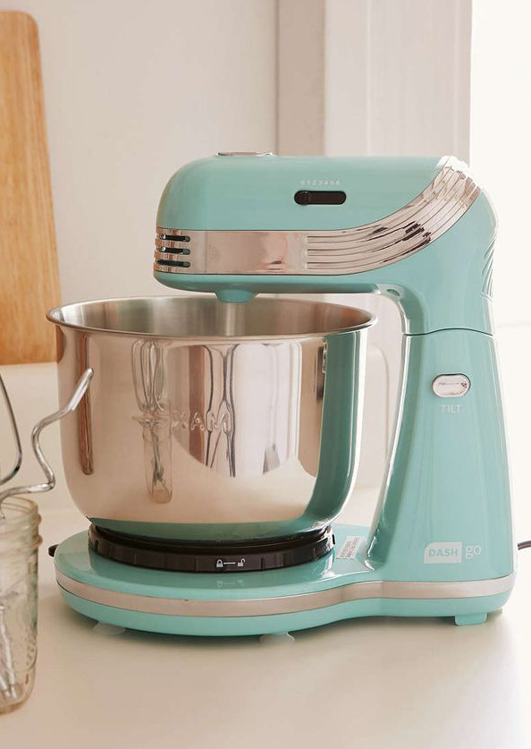 delightful Turquoise Small Kitchen Appliances #10: Standing Kitchen Mixer