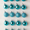 Turquoise Shatterproof Ball Ornament Set