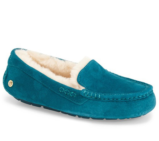 UGG Ansley Ornate Slipper in Deep Teal