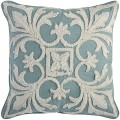 Coastal Embroidered Pillow