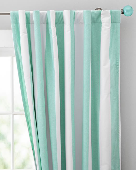 Cottage Stripe Drape