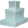 Pool & Silver Scallops Gift Boxes