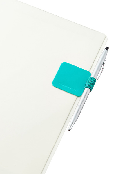 Teal Self-Adhesive Pen Loop