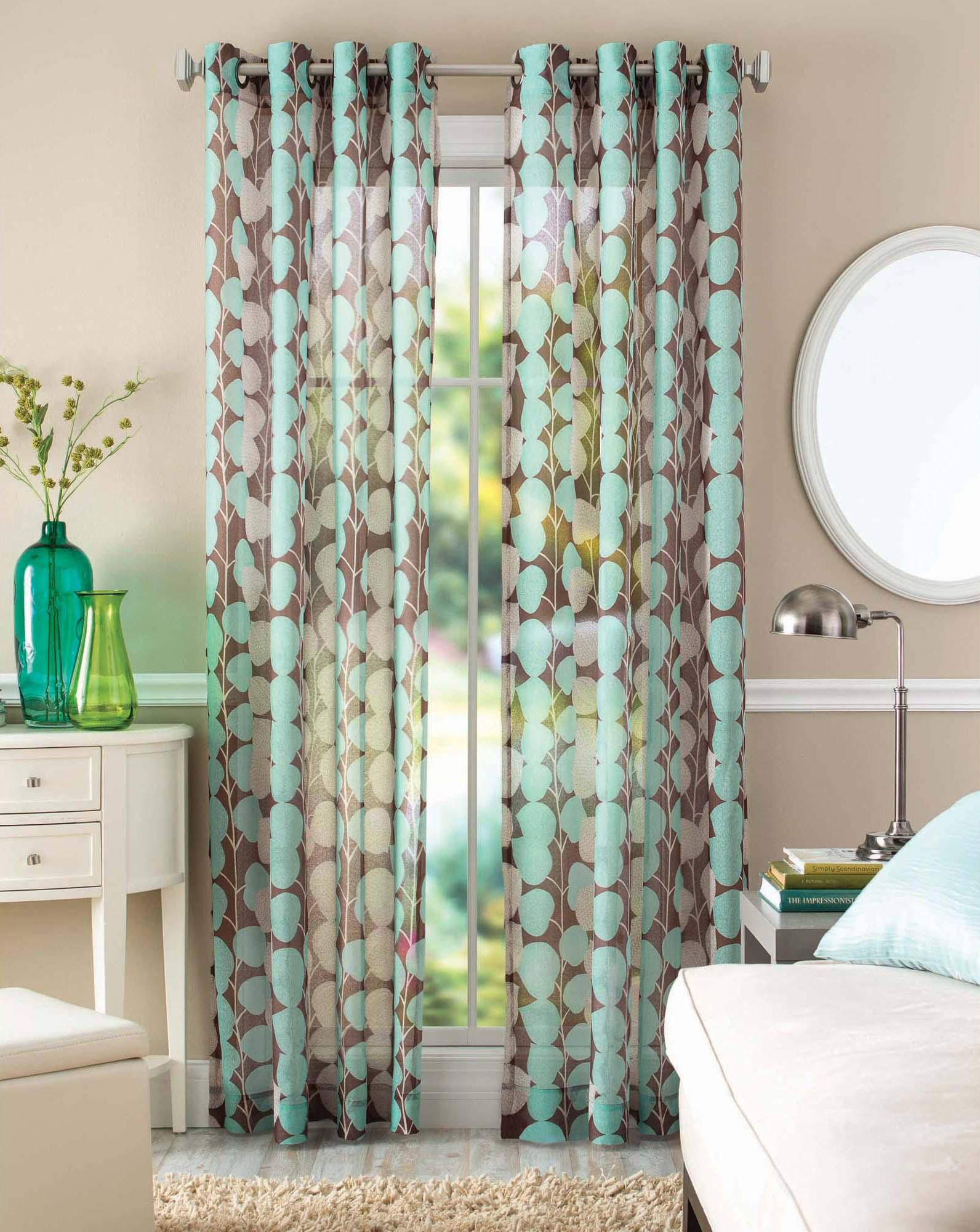 Better Homes and Garden Vine Leaf Curtain Panel