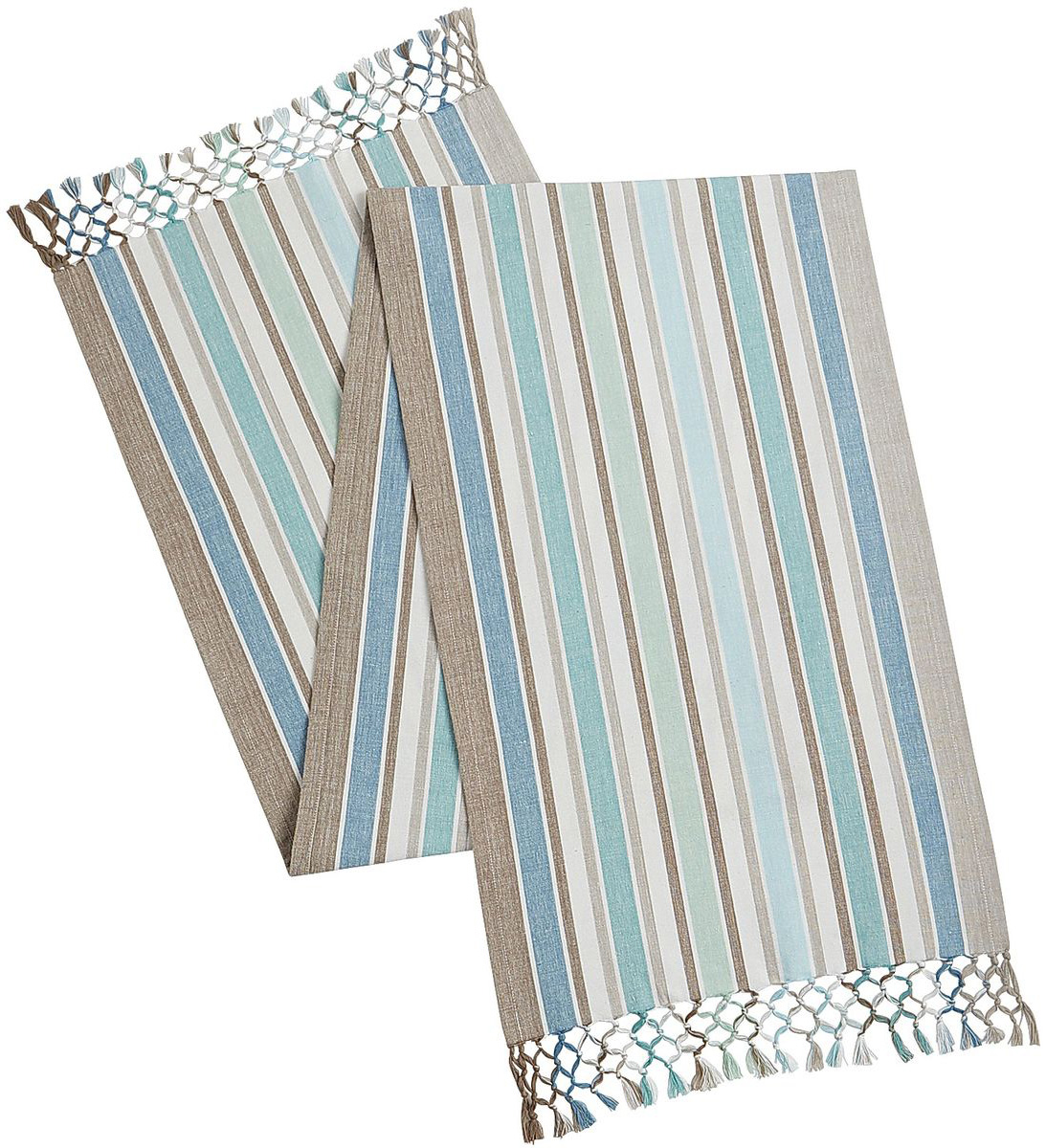Coastal Stripe Table Runner