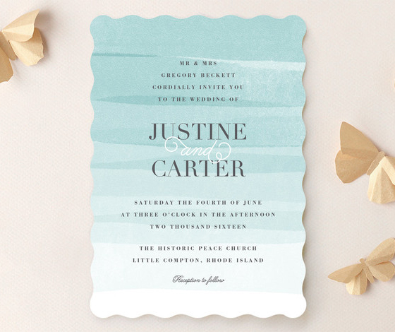 Old Post Road Wedding Invitations