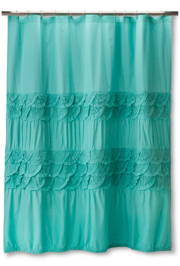 Teal Boho Boutique Textured Shower Curtain Everything Turquoise
