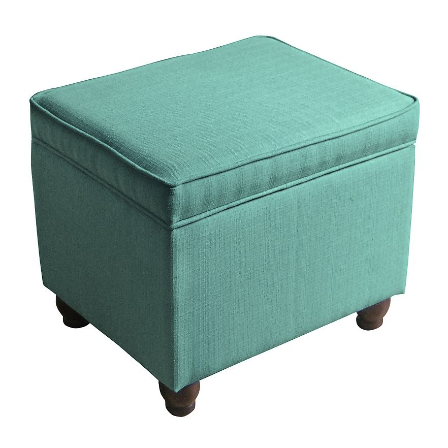 Aqua Storage Ottoman Ottomans And Storage Cubes Crate