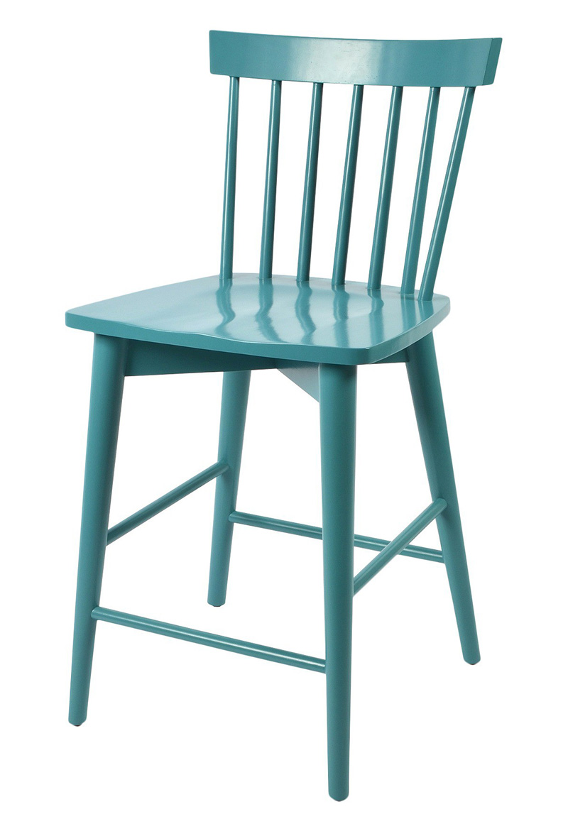 Aqua Windsor Counter Stool Everything Turquoise